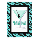 Bachelorette Party Invitation - Zebra 'n Leopard