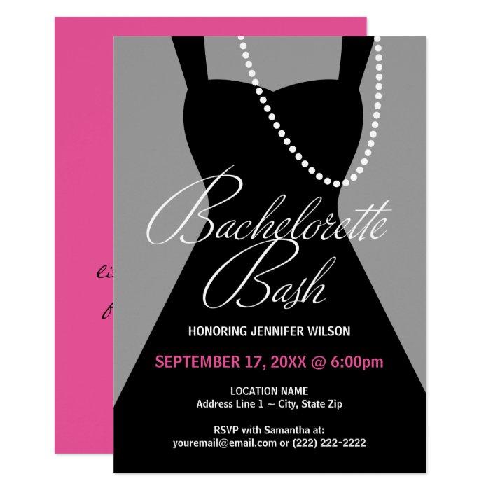 Bachelorette Party Invitations Little