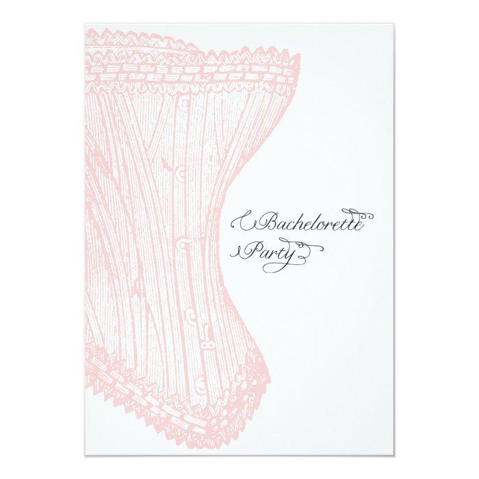 Bachelorette Party Invite-Custom Card