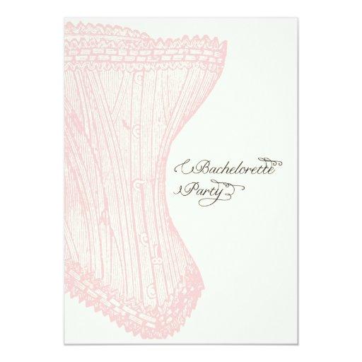 """Bachelorette Party Invite-Custom 5"""" X 7"""" Invitation Card"""