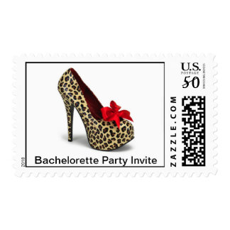 Bachelorette Party Invite Postage Stamp