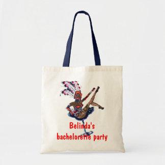 Bachelorette Party Las Vegas Style Tote Bag