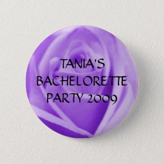 BACHELORETTE PARTY- lavender rose button