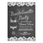 Bachelorette Party Lingerie Shower Bridal Invite