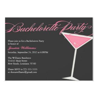 Bachelorette Party Martini Custom Announcement