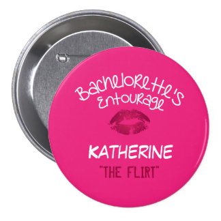 Bachelorette Party Name Tag Button