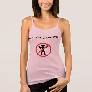 Bachelorette Party No Boys Tank Top