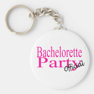 Bachelorette Party (Official) Basic Round Button Keychain