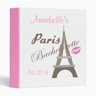 Bachelorette Party Paris Album Binders