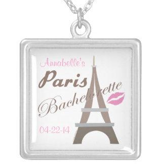 Bachelorette Party Paris Necklace