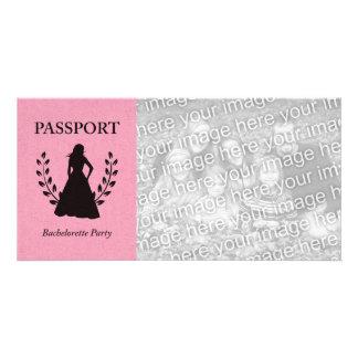 bachelorette party passport card