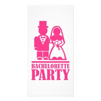 Bachelorette Party Personalized Photo Card