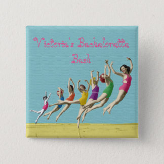 Bachelorette Party Pin Buttons