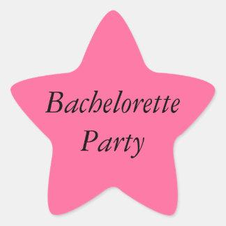 Bachelorette party pink sticker