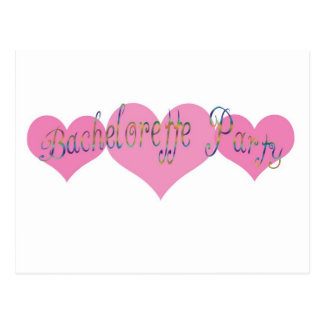 Bachelorette Party Post Card