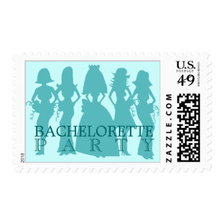 Bachelorette party postage green