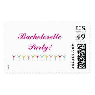 """Bachelorette Party"" Postage Stamps"