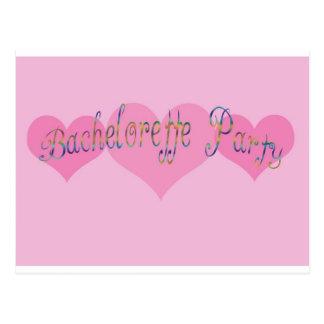 Bachelorette Party Postcard