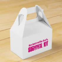 """Bachelorette Party"" Survival Kit Box"