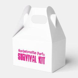 """Bachelorette Party"" Survival Kit Box"
