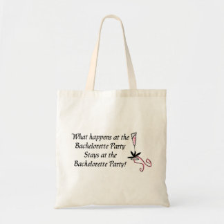 Bachelorette Party totebag Budget Tote Bag