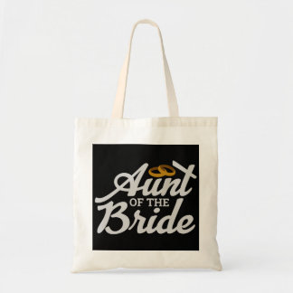 Bachelorette Party Wedding  Aunt of the Bride Ring Tote Bag