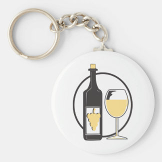 Bachelorette Party/white wine Keychain