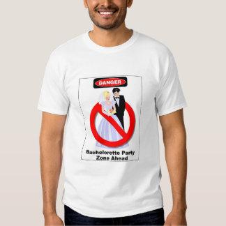 Bachelorette Party Zone Ahead T-Shirt