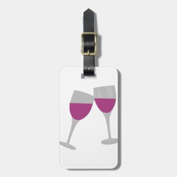 Bachelorette Paty Bag Tag by CREATIVEWEDDING at Zazzle