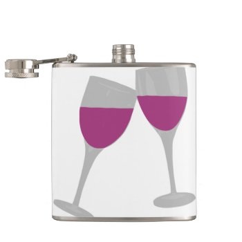 Bachelorette Paty Hip Flask by CREATIVEWEDDING at Zazzle