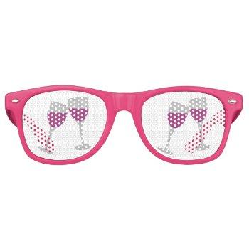 Bachelorette Paty Retro Sunglasses by CREATIVEWEDDING at Zazzle