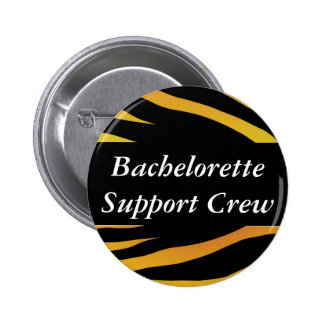 Bachelorette Support Crew Pinback Buttons