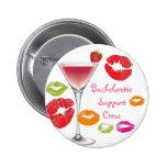 Bachelorette Support Crew Pinback Button