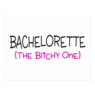 Bachelorette The Bitchy One Postcard