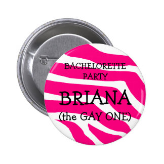 Bachelorette The Gay One Buttons