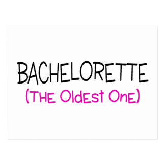 Bachelorette The Old One Postcard