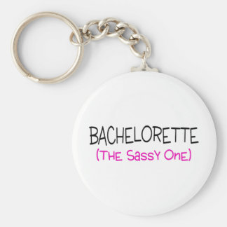 Bachelorette The Sassy One Keychain