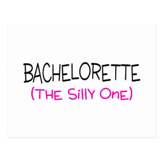 Bachelorette The Silly One Postcard