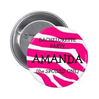 Bachelorette The Spoiled One Buttons