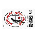 Bachelorette Tropical Weekend Tshirts and Gifts Postage Stamp