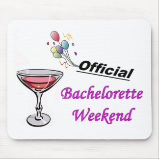 Bachelorette Weekend Full Mouse Pad
