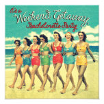 Bachelorette Weekend Getaway Party Invitations at Zazzle