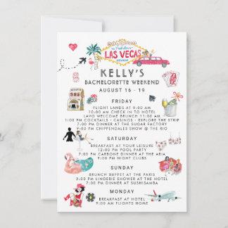 Bachelorette Weekend Itinerary | Las Vegas