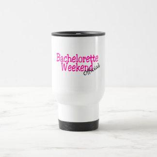 Bachelorette Weekend (Official/Pink) Travel Mug