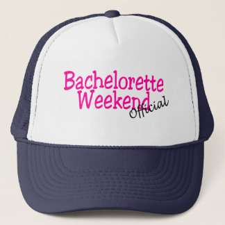 Bachelorette Weekend (Official/Pink) Trucker Hat