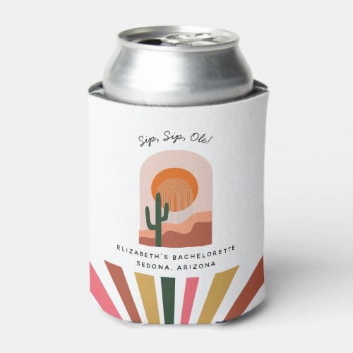 Bachelorette Weekend Party Favor Personalized  Can Cooler