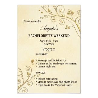 Bachelorette Weekend Invitations & Announcements   Zazzle