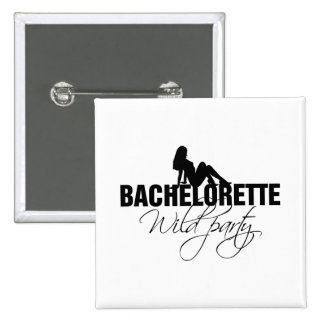 Bachelorette wild party (girl) button