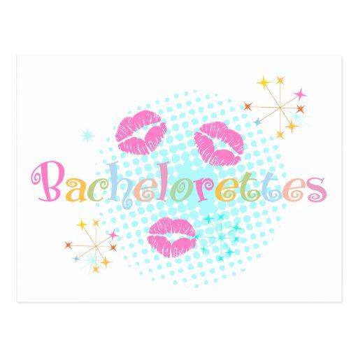 Bachelorettes Postales