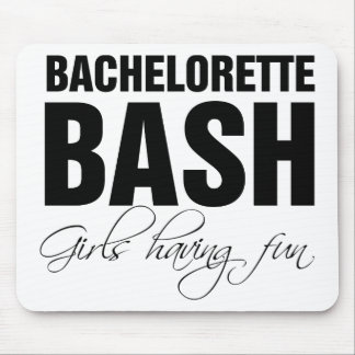 Bachelorettte bash girls having fun mouse pad